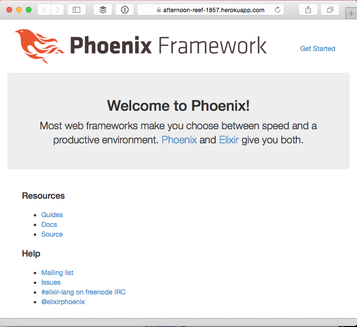Deploying a Phoenix app to Heroku