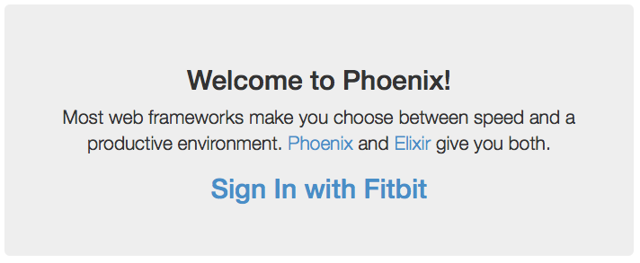 Sign In with Fitbit